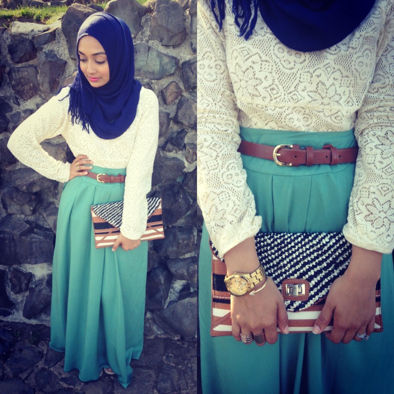 Hijab Maxi Dress Tumblr Style 6