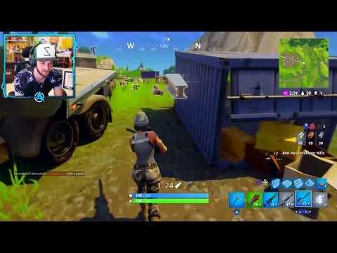 The Secret Gun In Fortnite Battle Royale Zapatron Sniper Youtube
