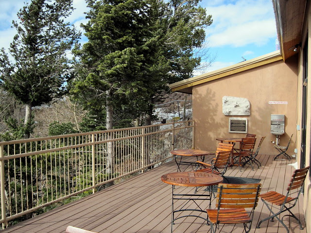 The deck at Sandia Crest House 20111112