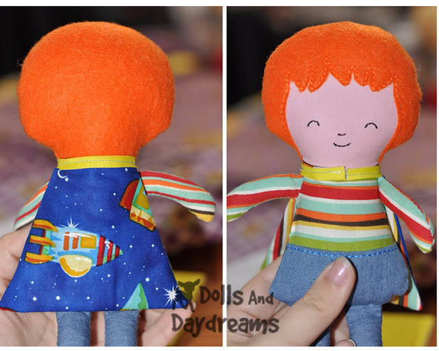 In The Hoop Doll Superhero Pattern ITH