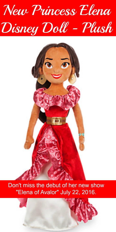 Princess Elena Disney Doll - Disney New Latina Princess