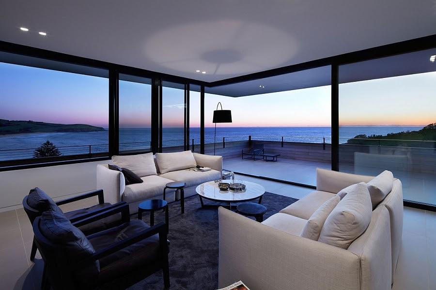 Breathtaking Ocean  Views  And A Distinct Facade Shape The