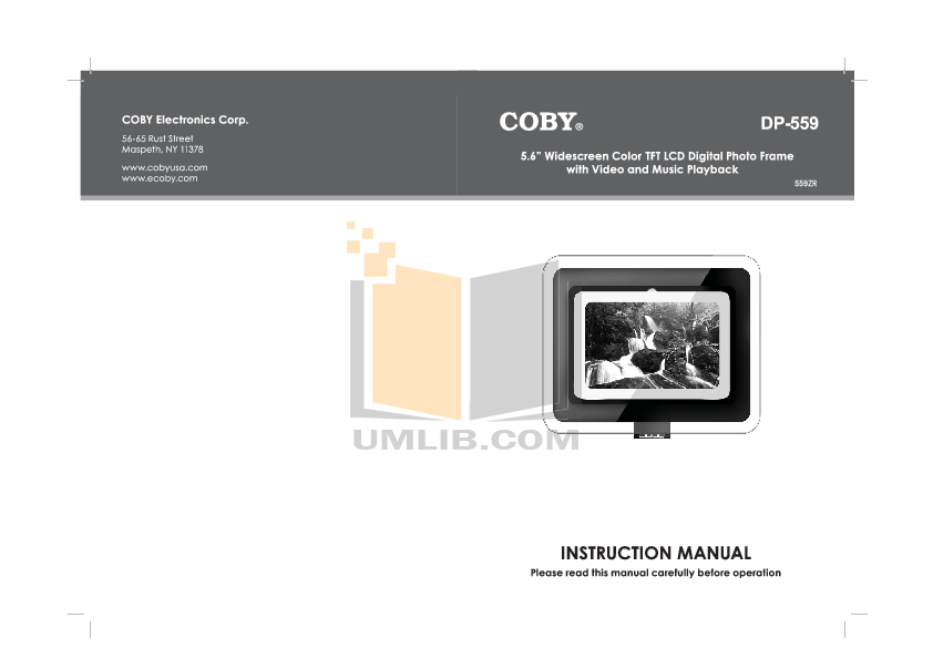 Contemporary Coby Digital Photo Frame Embellishment Frames Ideas