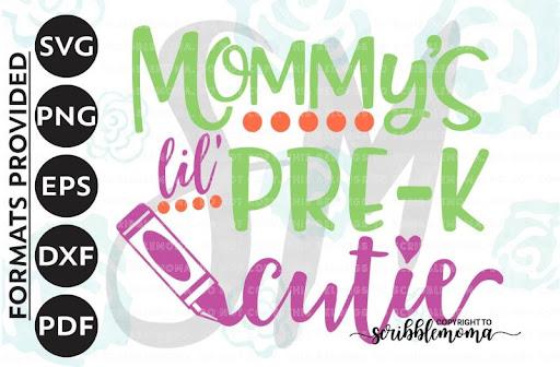 Download Free Pre-K Cutie SVG, First Day Pre-K svg, Preschool svg ...