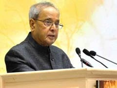 President Pranab Mukherjee Gives Message of Unity in Diversity in Vrindavan