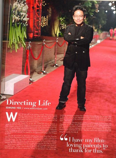 Directing Life (Style magazine, Jan 2012)