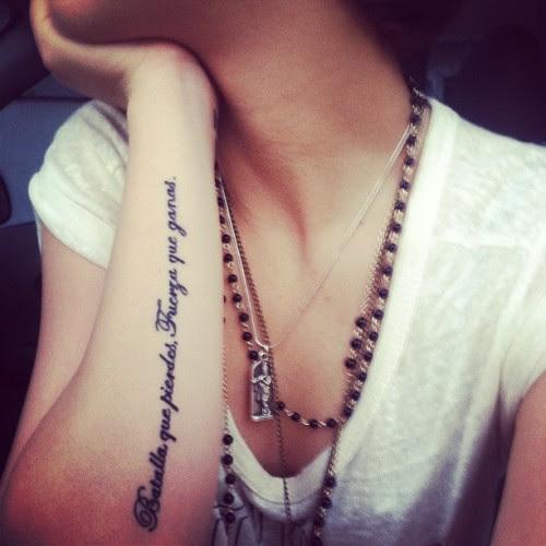 18 Frases En Español Que Inspirarán Tu Próximo Tatuaje Ayayay