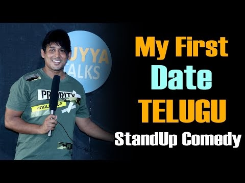 My First Date (ft:Vinay Kuyya) || Telugu Standup Comedy || Kuyya Talks