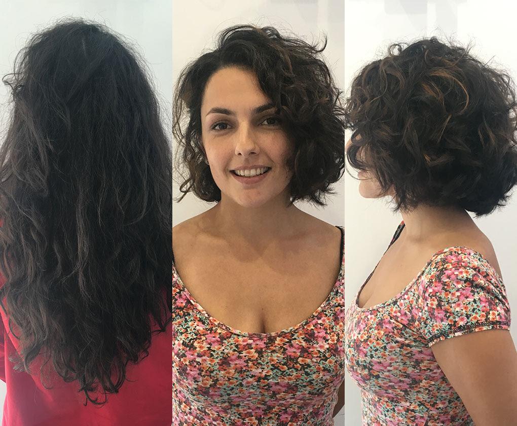 Cambios de look para pelo rizado