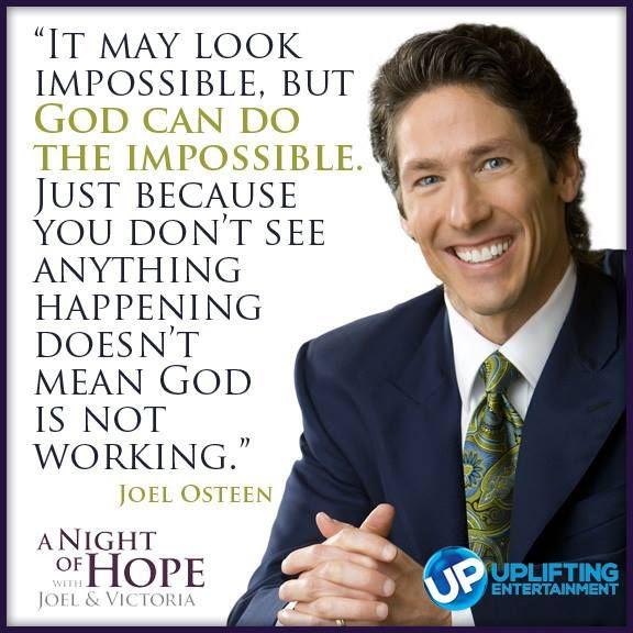 Joel Osteen Quotes Hope. QuotesGram