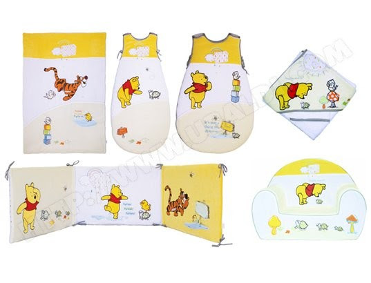 winnie l ourson linge de lit Meuble cuisine dimension: Lit bebe winnie winnie l ourson linge de lit