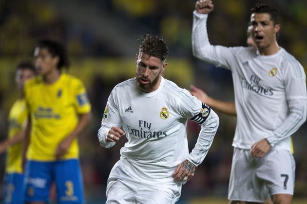 Real Madrid x Las Palmas