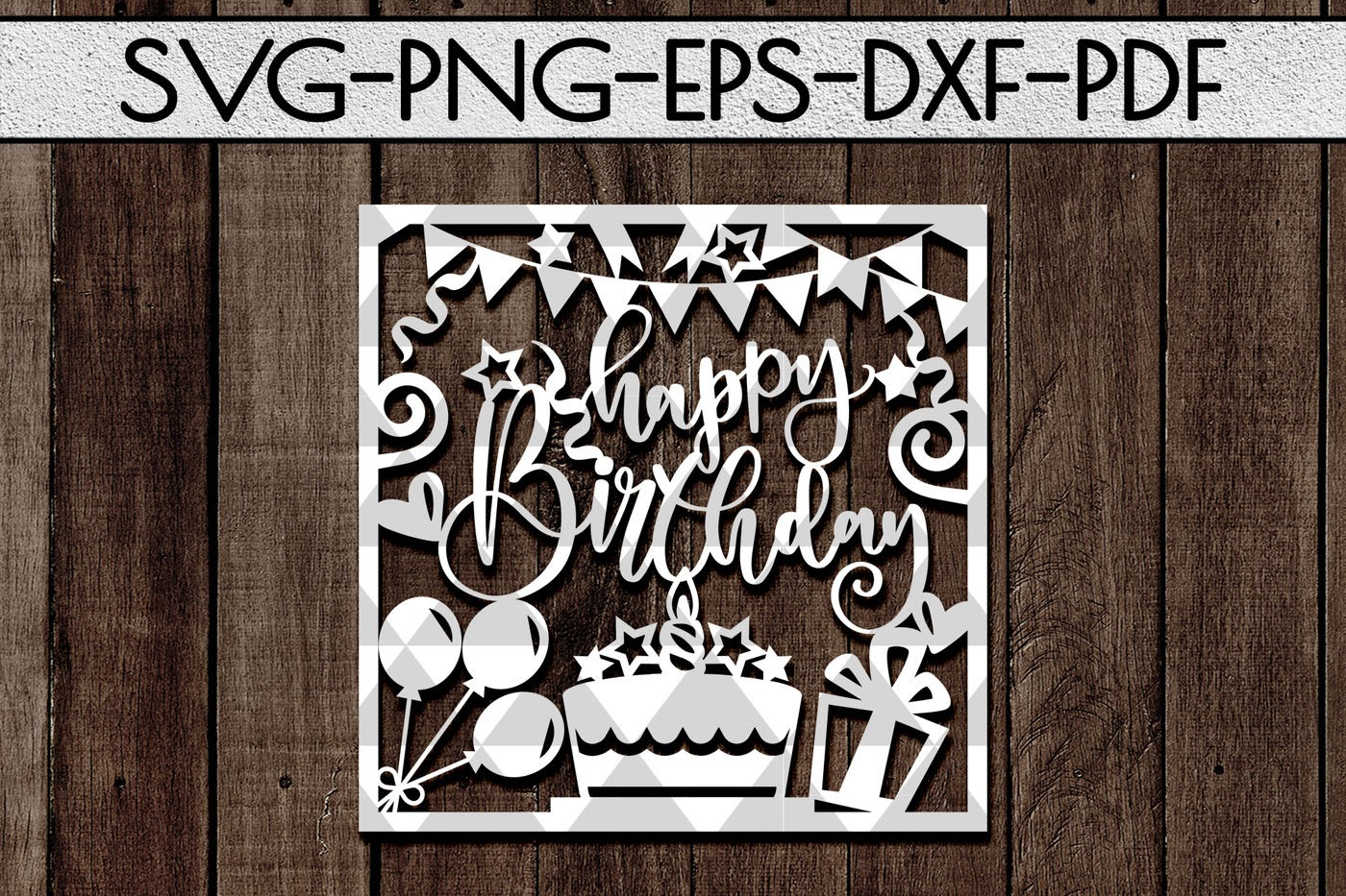 Download Cricut Design Free Happy Birthday Card Svg Cutting Files ...
