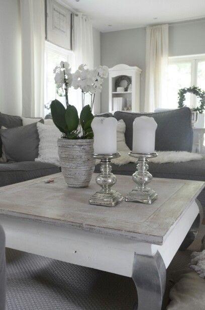 wohnzimmer deko weiss silber - badezimmer kreativ gestalten