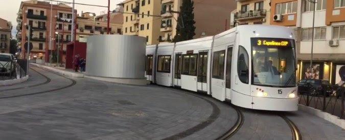 Palermo, tram del maxi-appalto costretto a girare vuoto. Il bilancio? Già in rosso