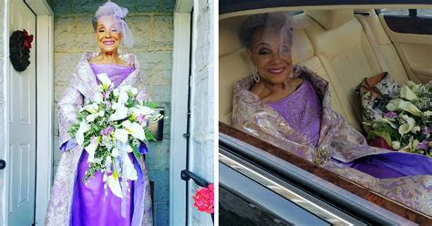 86 Year Old Grandma Gets Married In A Gorgeous Dress She