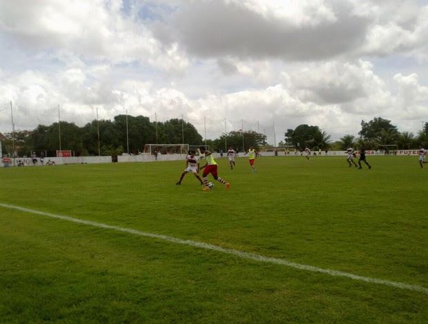 América-RN vence jogo-treino contra o Atlético Potengi por 5 a 0 (Foto: América FC/Divulgação)