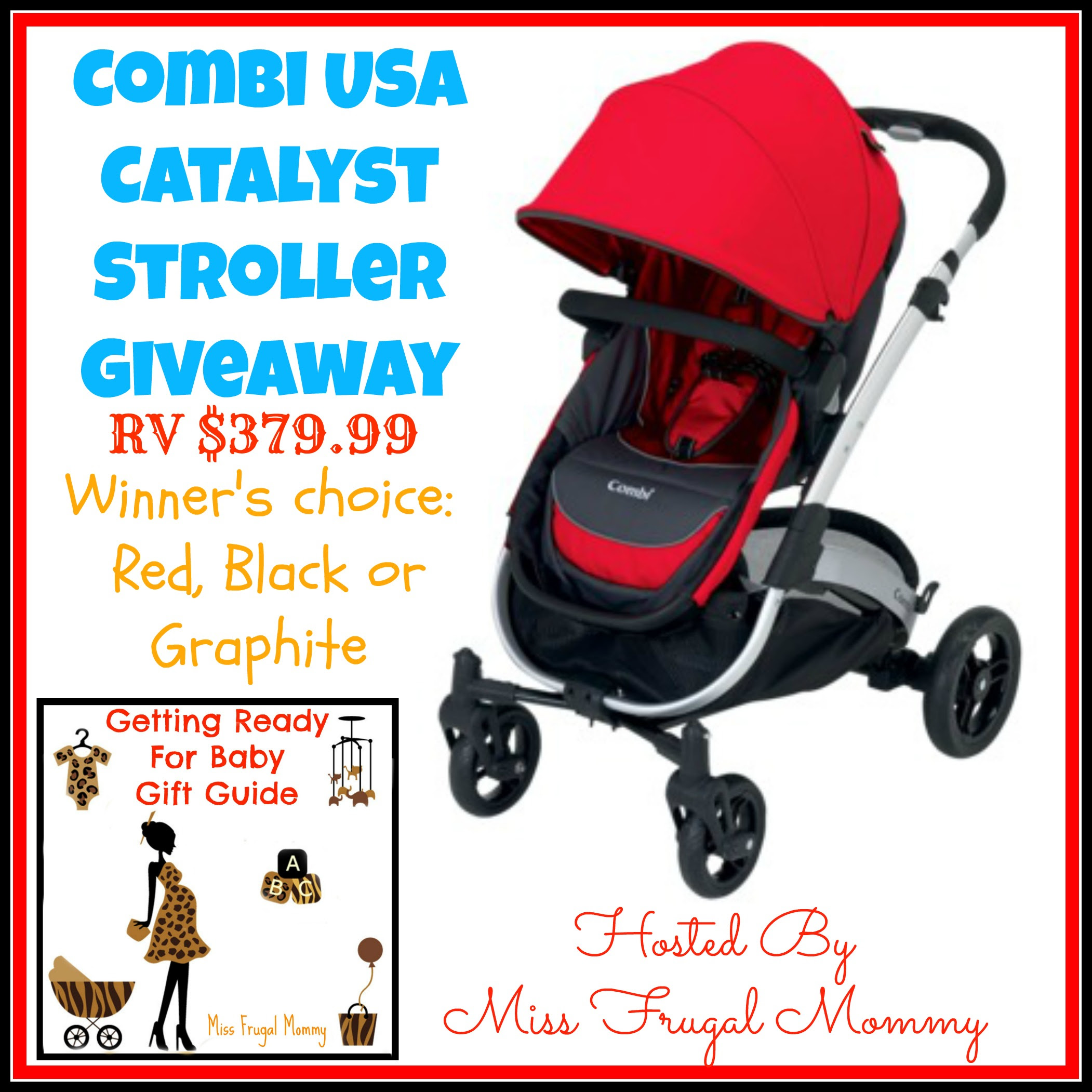 Combi Catalyst Strollyer Giveaway
