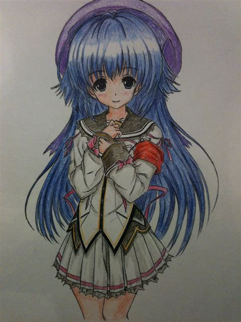 anime drawings  color poster