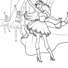Tori Disguised As Keira Coloring Pages Hellokidscom