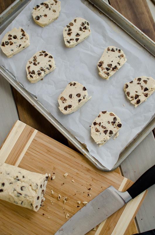 Slice 'n Bake Chocolate Chip Cookies
