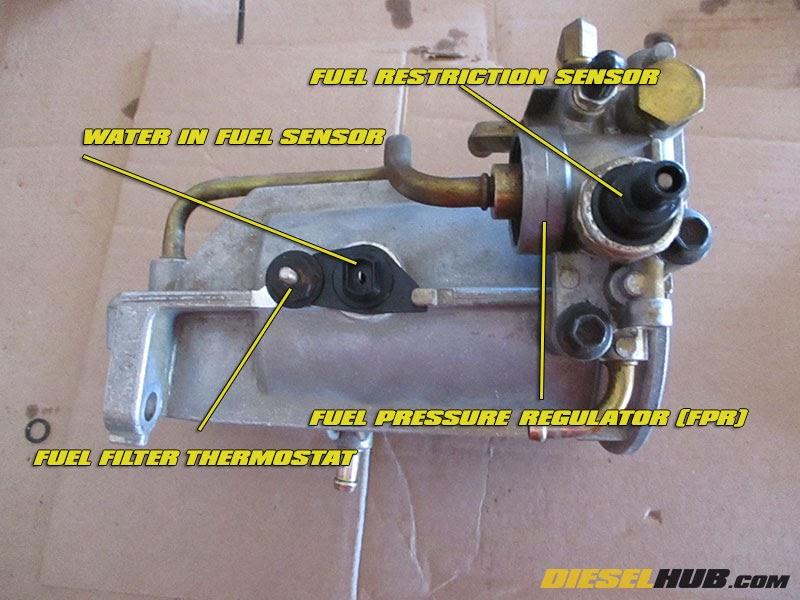 7 3 Fuel Filter Embly