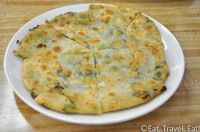 Flavor Garden- Alhambra, CA: Green Onion Pancake