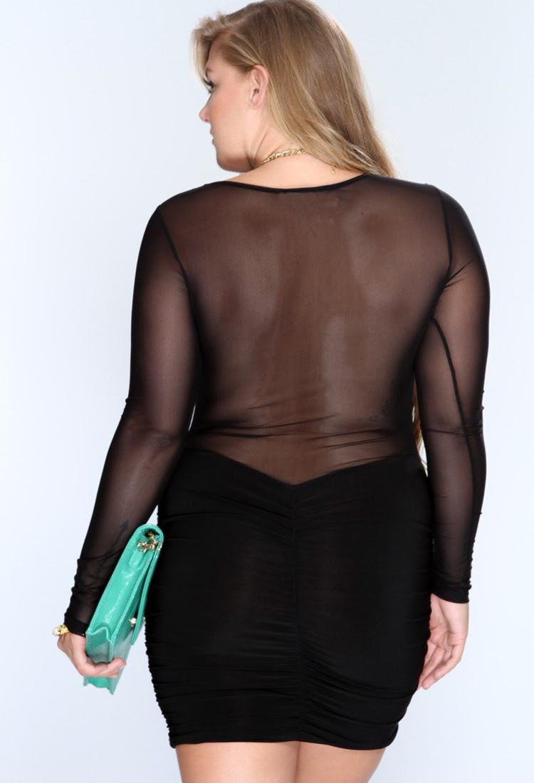 xlxxxxl new hot plus size mesh sexy club dress women