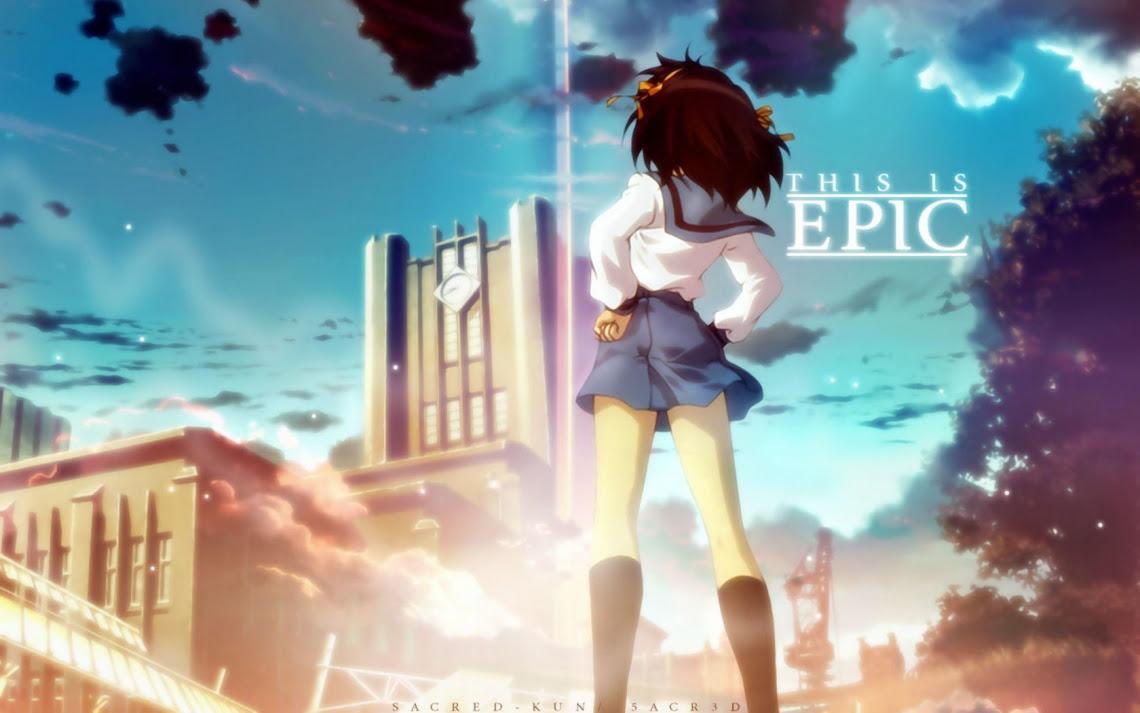 Free Photo Of Anime The Melancholy Of Haruhi Suzumiya Wallpaper