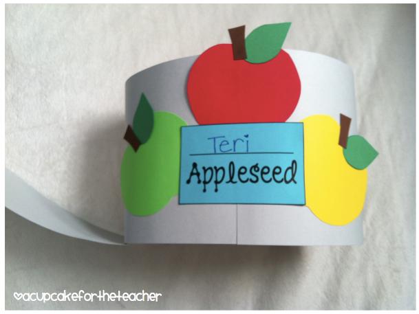 Johnny Appleseed Craftivities
