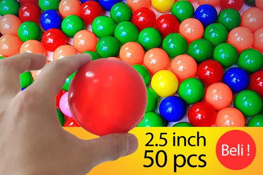 Mandi Bola Plastik Warna Warni Crystal Star Balls