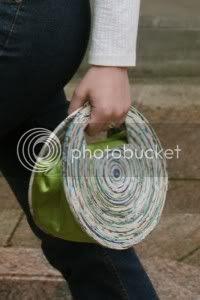 Newspaper Handbags