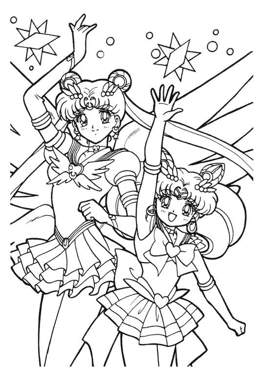 Immagini Da Colorare Sailor Moon