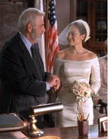 """Jennifer Lopez in """"The Wedding Planner"""" Quickie City Hall"""