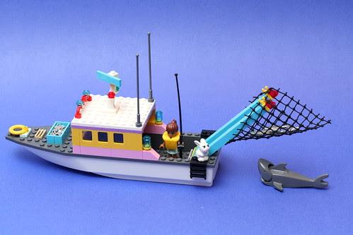 Friends Fishing Boat