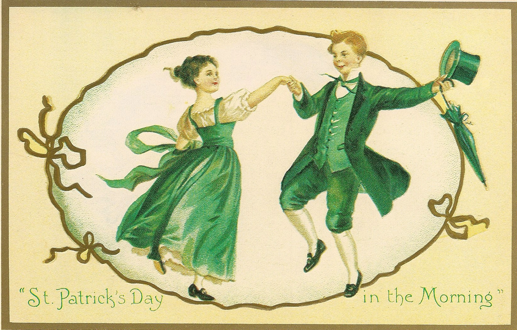 St. Patrick's Day Postcard