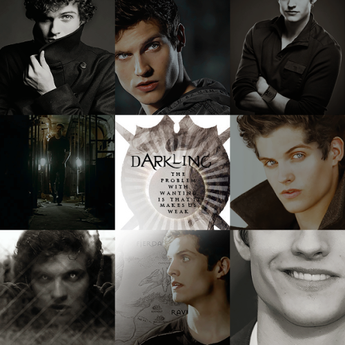 New fancast: Daniel Sharman as the Darkling. Honestly, I feel like half my fancasting for S&B is from Teen Wolf, lol. NO REGRETS THOUGH. My next set will feature Tyler Hoechlin as the Darkling. :P But I love Daniel too. Both would be excellent.