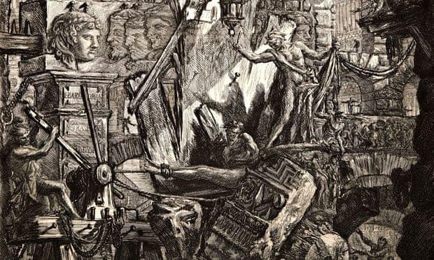 Giovanni Battista Piranesi (Italian 1720-1778). The Man on the Rack, 1761. From Carceri d'Invenzione
