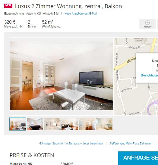 Wohnungsbetrug.blogspot.com: Luxus 2 Zimmer Wohnung