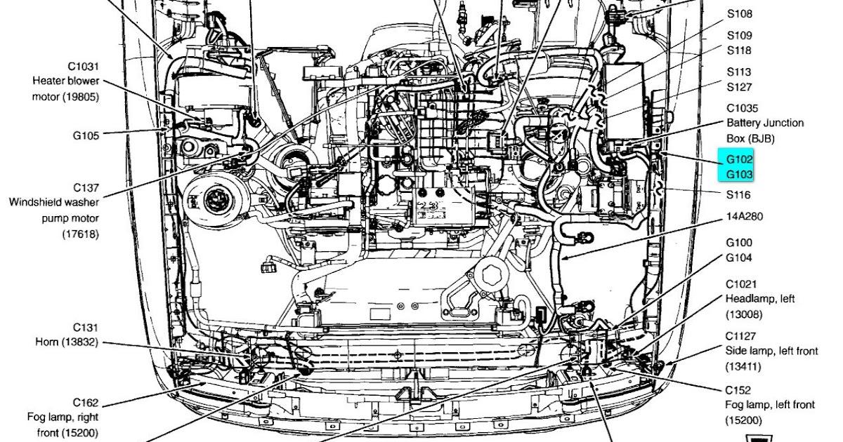 2009 Ford Ranger Engine Diagram