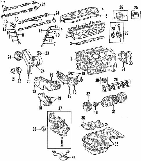 Toyota Highlander Engine Diagram
