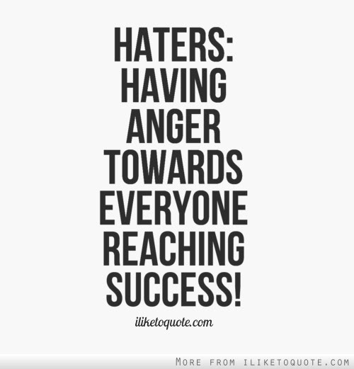 Haters Having Anger Towards Everyone Reaching Success