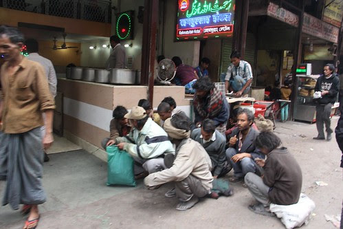 The Delhi Hungry For Free Food Beggars by firoze shakir photographerno1