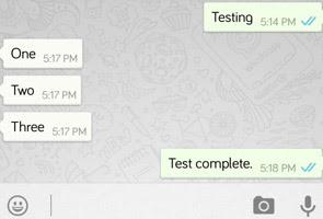 Tanda biru WhatsApp: Tiada lagi alasan mesej 'tak sampai'