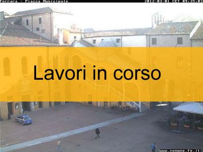 Webcam Comune di Ferrara- Piazzetta Municipale