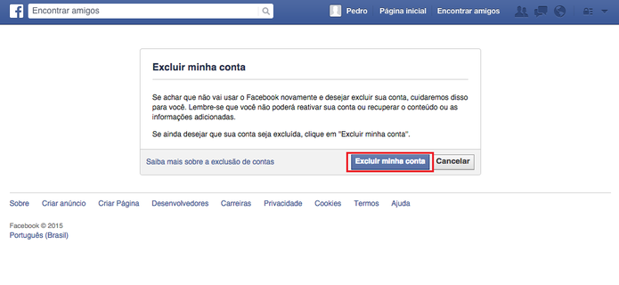Como Apagar Fotos Do Face: ECM Informática: Como Excluir Seu Facebook E Encerrar De