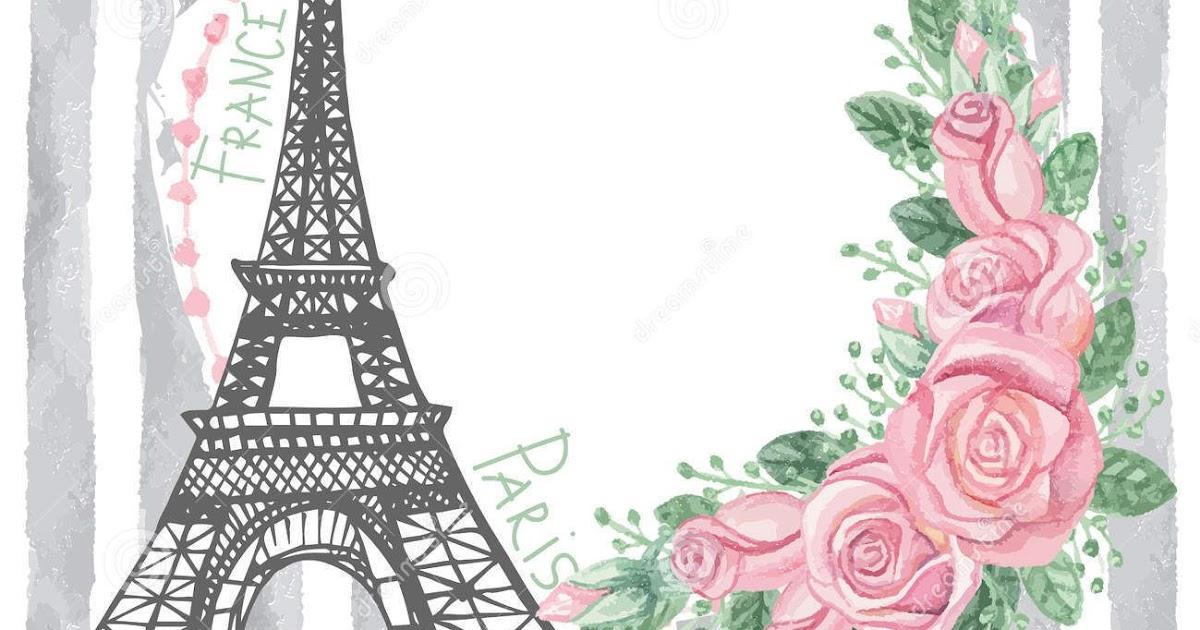 Torre Ifel En Dibujo: Torre Eiffel Dibujo Rosa