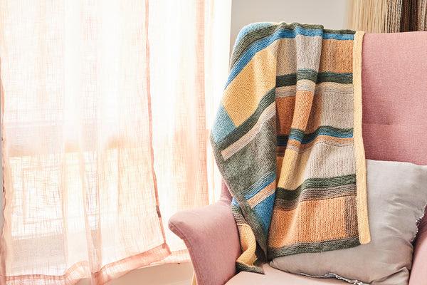 Lakeside Afghan Free Knitting Pattern Download
