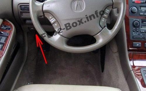 2000 Acura Rl Fuse Box