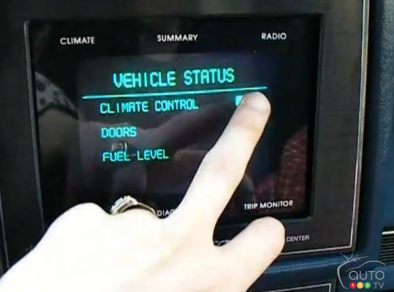 World's first in-car touchscreen found in 1987 Buick  Car News  Auto123